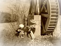 A little antique photo fun  #pinyourlove#picmonkey