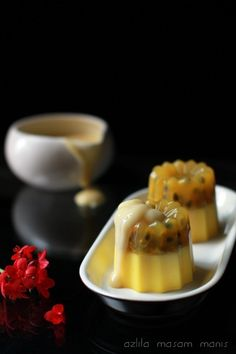 Asian Desserts, Asian Recipes, Ethnic Recipes, Agar, Jello, Mousse, Panna Cotta, My Favorite Things, Puddings