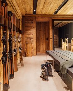 """Rougemont Interiors on Instagram: """"Ski Room design - are you ready to ski this winter season? #skiresort #skiroom #skilifestyle #comeupslowdown #gstaad #gstaadmylove…"""" Winter Cabin, Country Houses, Winter Season, Skiing, Mountain, Interiors, Summer, Room, Instagram"""