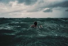 Lost in the middle of the ocean being tossed this way and that by rough waves and strong currents