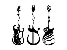 44 New Ideas For Tattoo Music Guitar Design Guitar Tattoo Design, Music Tattoo Designs, Music Tattoos, Life Tattoos, Tattoo Designs Men, Tatoos, Guitar Drawing, Guitar Art, Music Guitar
