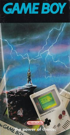 Nintendo Game Boy : The Power of Choice magazine Vintage Video Games, Retro Video Games, Vintage Games, Retro Games, Game Boy, Consoles, Nintendo 3ds, Video Game Magazines, Gaming Pc Build