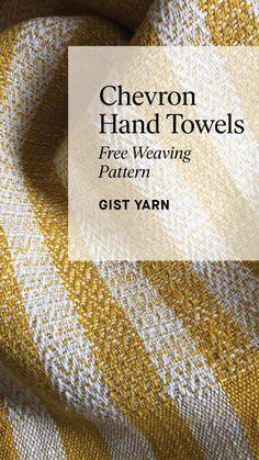 Linen Towels, Hand Towels, Weaving Yarn, Hand Weaving, Cricket Loom, Weaving Patterns, Fabric Manipulation, Weaving Techniques, Chevron