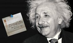 Einstein's note on happiness sold for $1.6m
