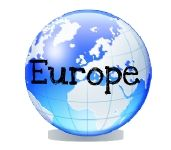 Free geography printables for Europe