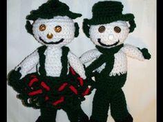 Crochet Snow Leprechaun Part 1 Crochet Geek