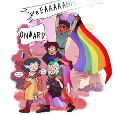 Cartoon Shows, Cartoon Art, House Fan, Disney Fantasy, Anime Stickers, Fan Art, Owl House, Cute Disney, Disney Drawings