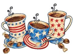 Good morning everyone! We just wanted to let you know that the of July we'll be open! Our hours will only be from 8 to we just want to make sure you can grab your coffee, pastry and sandwich before you head to the beach 🏖🍪 We'll be waiting for you! Happy Week, Happy 4 Of July, 4th Of July, Coffee Geek, Coffee Love, Coffee Coffee, Gifs, Gif Animé, Animated Gif