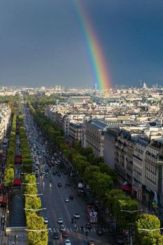 .Paris...this is a view from the top of the arch dr triumphe-robert and I were there...so amazing!