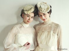 victorian lady with white roses - dramatica ~vintage wedding dress styling & rental