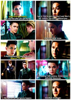 "#Shadowhunters 1x09 ""Rise Up"" - Magnus"