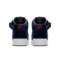 buy online 22762 2a6ec Nike Air Force 1 Mid Premium iD Shoe