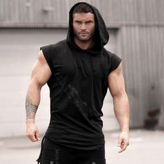 Mens Cotton Black Dianabol Bodybuilding Clothing Hoodie Workout Top Gym Xxl 100% Guarantee Clothing, Shoes & Accessories