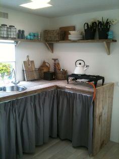 rideaux plan de travail cuisine | Déco cuisine | Pinterest ...