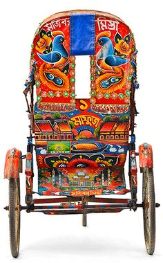 Rickshaw: I felt soooo sorry for the little man who had to drive my chunky monkey self in these when I was in India and Nepal. Creative India, Street Art, Amazing India, Truck Art, India People, Thinking Day, Arte Popular, Indian Art, Nepal