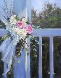 """""""Wedding Day"""", Oil Painting by Pat Fiorello, patfiorello.blogspot.com, www.patfiorello.com"""