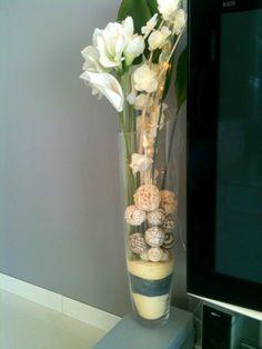 déco grand vase verre