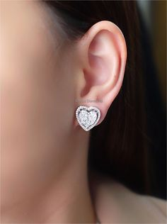 Solitaire Earrings, Diamond Earrings, Diamond Jewelry, Diamond Jewellery, Diamond Drop Earrings