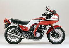 Die CB 750F Integra bekam 1982