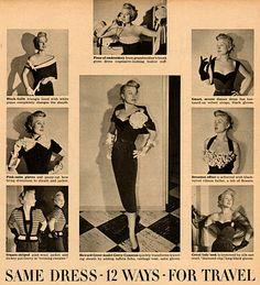 Flirting with Howard Greer #2 - Transformation Dress