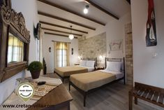 Cretan Villa Hotel triple room is the perfect solution for small family or group of friends in Ierapetra.