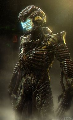Bio-Suit Isaac – Dead Space fan art by Jared Krichevsky: