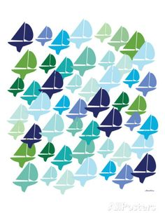 Cool Fleet Print by Avalisa at AllPosters.com