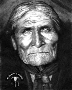 Geronimo/Goyakhala/Goyathalay Apache Medicine Man and War Leader