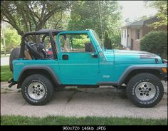 The best accessory! A cute, girly, fun colored Jeep! Plan to get me another one ASAP