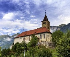 Parish church of Brienz, Bern, Switzerland by Elenarts - Elena Duvernay photo Places In Switzerland, Camping Car, Famous Places, Place Of Worship, Bern, Travel Photos, Fine Art America, Beautiful Places, Around The Worlds