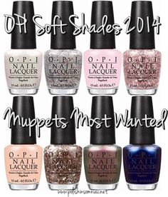 OPI #Muppets Most Wanted collection!!!