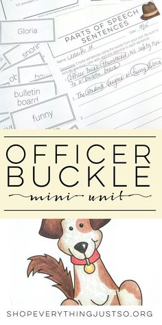 Officer and Gloria Mini Activities Unit   http://everythingjustso.org   Officer Buckle and Gloria is one of my go-to texts for back to school. It can be used for so many lessons, but is perfect for teaching about inferences, drawing conclusions, using illustrations, and reviewing character traits. These activities were created specifically to review those skills plus compare and contrast, summary, and sequencing. They were designed intentionally to be very simple to use with little to…
