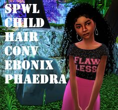 Sims 4 CC's - The Best: Child Hair by Shardae