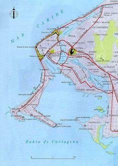 Playas en el Mundo, Cartagena de Indias Playas de Colombia