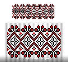 чувашская вышивка схемы