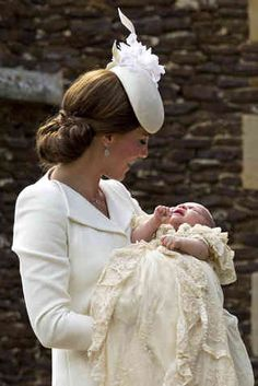 All The Cutest Pictures From Princess Charlotte's Christening