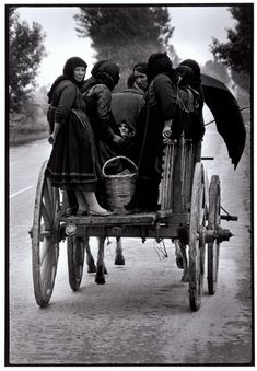 "Greece. Thessaly. 1964. Going to market. ""A Greek Portfolio"" p.49 © Costa Manos/Magnum Photos"