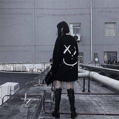 o-ring sweater jumper cozy grunge tumblr tee harajuku cute dotwork tattoo oring