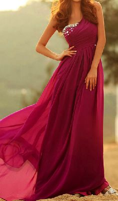 Long Chiffon Evening/Party/Prom Dress
