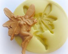 Latex Craft Large Mould Fairy on Lily Pad Ornament Reusable Art /& Crafts Hobby