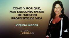 Como y por que, nos desconectamos de nuestro propósito de vida -- Virginia Blanes 1º Parte de 2