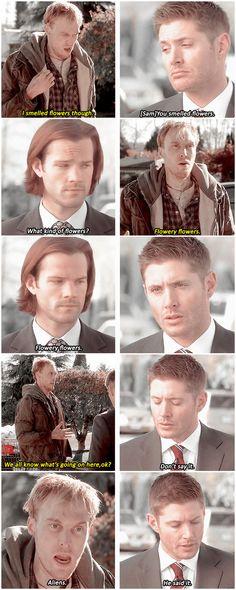 [gifset] SPN Spoilers 10x12 About A Boy #SPN #Dean #Sam