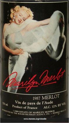 Marilyn Merlot wine.