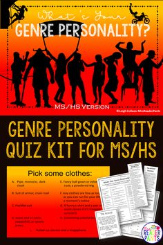 This genre personality quiz is designed to help middle and high school students identify which reading genres are best for them. Social Studies Notebook, Teaching Social Studies, History Education, Teaching History, Library Skills, Library Ideas, Reading Genres, Reading Incentives, American History Lessons