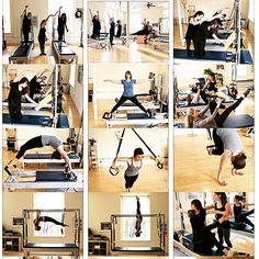 Scenes from inside Rhinebeck Pilates