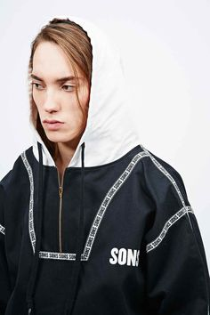 Sons Drill Training Hoodie in Black