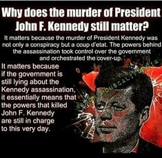 think a little🤷 Jfk Jr, John Kennedy, Kennedy Assassination, Political Views, Political Topics, Truth Hurts, Conspiracy Theories, History Facts, Frases