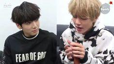 180204 [BANGTAN BOMB] V&Jungkook Singing at standby time VKOOK #BTS #JUNGKOOK #V