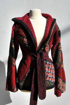 Koos Van Den Akker Patchwork Collage Jacket - a little too small for me but one day I will find you...