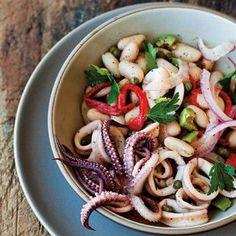 Calamari and White Bean Salad | Williams-Sonoma